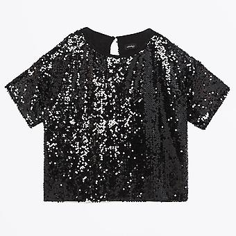 Ottod'Ame - Sweater With Sequins - Black