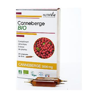 Bulbs - ORGANIC Cranberry 20 units of 15ml