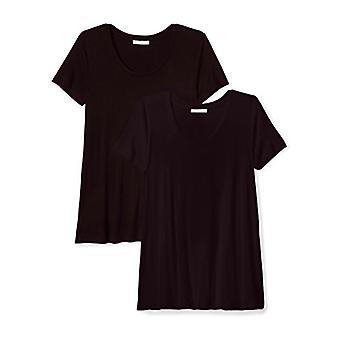 Marke - Daily Ritual Women's Jersey Short-Sleeve Scoop Neck Swing T-Sh...