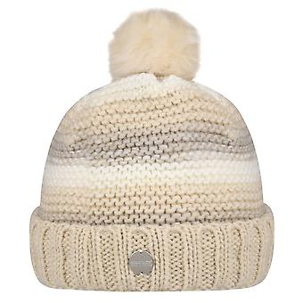 Regatta Womens Frosty IV Acrylic Winter Bobble Beanie Hat