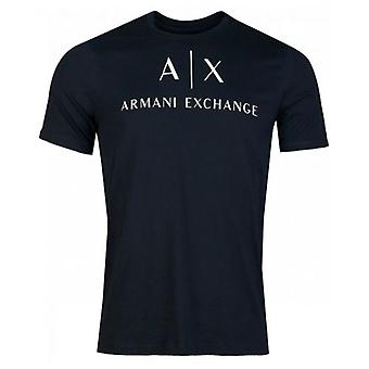 Armani Exchange Script Logo Crew Neck T-Shirt