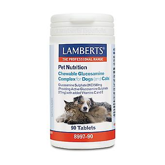 Pet Nutrition Glucosamine dogs and cats 90 tablets