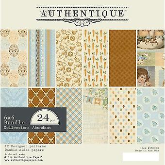 Authentique Abundant 6x6 Inch Paper Pad