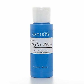Docrafts Akryl Paint (2oz) - Azure Blue (DOA 763234)