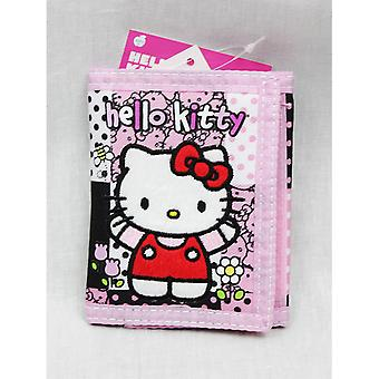 Trifold Wallet - Hello Kitty - Pink/Red Box - Licensed - 82515