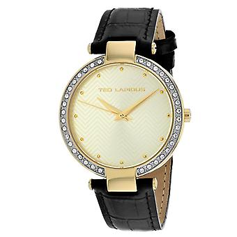 A0732PTPN, Ted Lapidus Women's Classic - Or