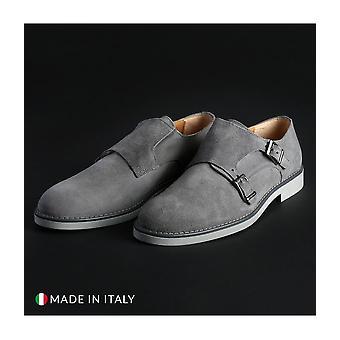 Madrid - Shoes - Slipper - 600_CAMOSCIO_GRIGIO - Men - lightgray - EU 41