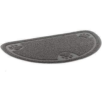 Ancol Dog Feeding Mat W kształcie litery D (60x36cm) - Szary