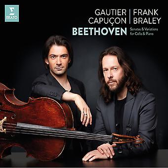 Beethoven / Capucon / Braley - Cello Sonatas & variaties [CD] USA import