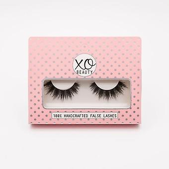 xoBeauty False Lashes - The Rebel - Dramatic Ultra Curled & Winged Out