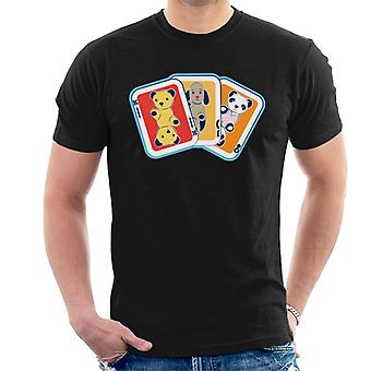 Sooty Playing Card Trio Men''s T-Shirt