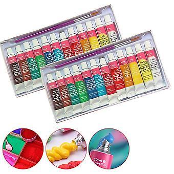 Professionaltextile الاكريليك بألوان زاهية Paintsset -- الفن لوازم مجانا