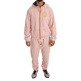 Pink Cotton Sweater Pants  Tracksuit BIL1002-3