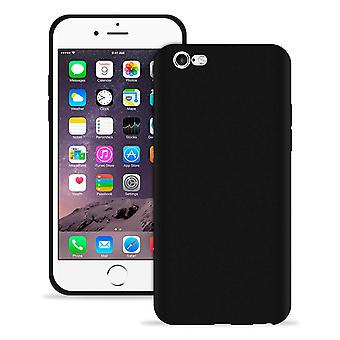 Soft Thin Mobile Protection pour Apple iPhone 6/6s Ultra-Slim TPU Shockproof Black