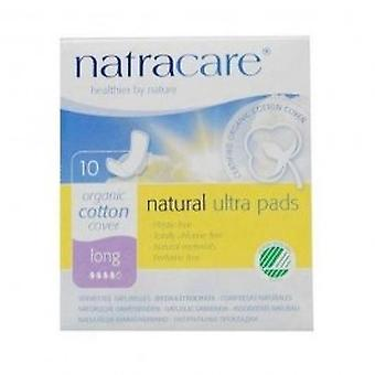 Natracare - Ultra Pads Long with Wings 10pieces