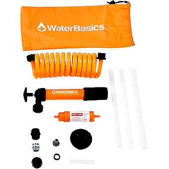 WaterBasics Emergency Pump and Filter Kit for Stored Water