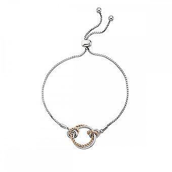 Hot Diamonds Unity Circle Bracelet Rose Gold DL593