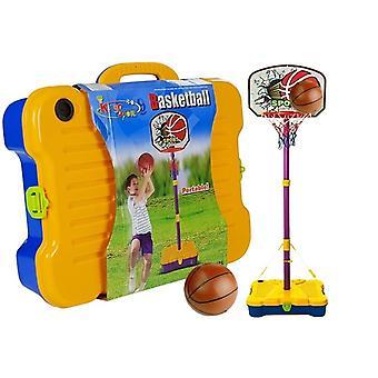 Kinder basketbalset met bal - draagbaar