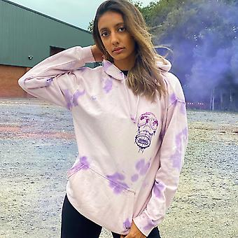 Purple Quarantine Drip Hoodie
