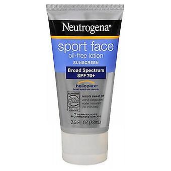 Neutrogena Neutrogena Sport Face Crème solaire, 2,5 oz