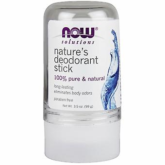 Now Foods Deodorant Stick, Nature's 3.5 OZ