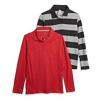 Brand - Spotted Zebra Boys Long-Sleeve Polo Shirts
