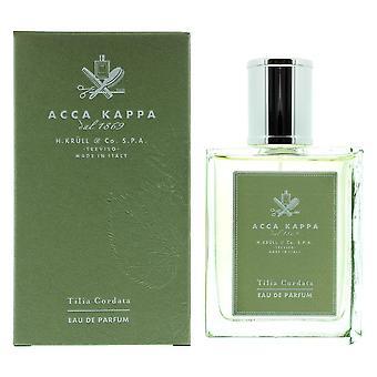 Acca Kappa Tilia Cordata Eau de Parfum 100ml Spray Unisex - NEW. EDP