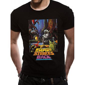 Star Wars Adults Unisex Adults Empire Strikes Back Design T-paita