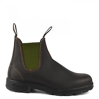 بلوندستون 519 أحذية جلدية براون / زيتون