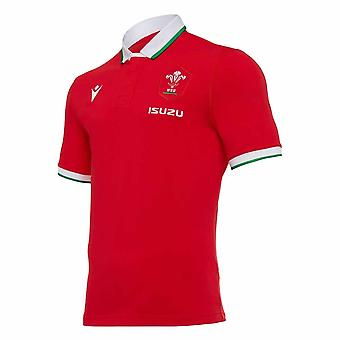 2020-2021 Wales Home SS PuuvillaInen rugbypaita