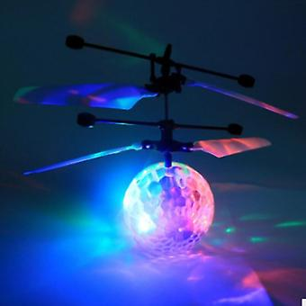 Mini Rc Helicopter Aircraft Flying Ball, Flying Toy Ball Shinning Led Lighting