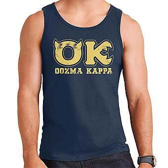 Pixar Monsters Inc University Oozma Kappa Logo Men's Vest