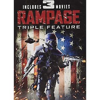 Rampage: Triple Feature [DVD] USA import