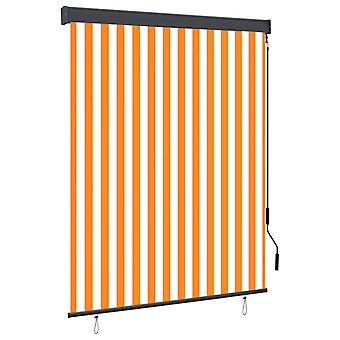 vidaXL outer roller 140x250 cm white and orange