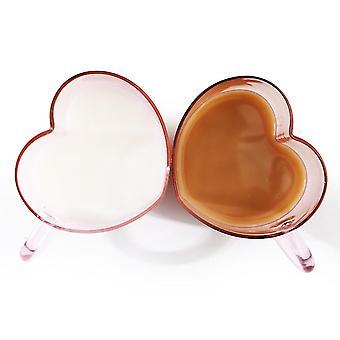 Copo de vidro isolado de vidro com parede dupla tumbler espresso xícara de chá/caneca de café