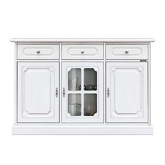 "Lacquered sideboard with central ""Cloud"" showcase;"