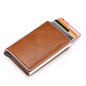 Man-women Smart Business Card Holder Wallet, Credit Mini Card Wallet