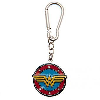 Wonder Woman Emblem 3D Keyring