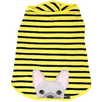 Frenchie Shirt | Frenchiestore | Cream French Bulldog In Bumblebee