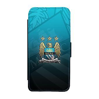 Manchester City iPhone 12 Mini Plånboksfodral