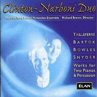 Tailleferre/Bartok - Clinton-Narboni Duo [CD] USA import