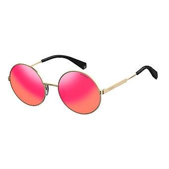 Polaroid PLD4052/S J5G/AI Gold/Polarised Grey-Pink Mirror Sunglasses