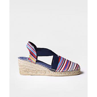 TARBES - Vegan espadrille for woman by Toni Pons made of fabric.