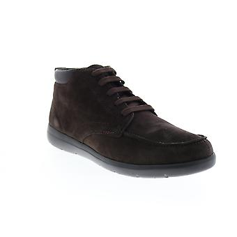 Geox U Leitan  Mens Brown Suede Lace Up Ankle Boots