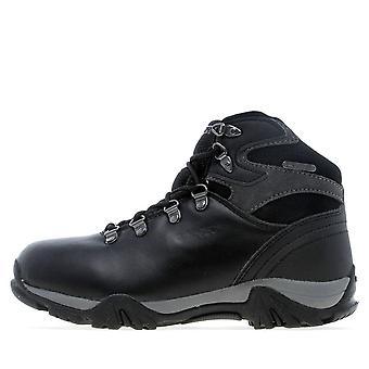 New Hi-Tec Girl's Oakhurst Trail Waterproof Boots Black