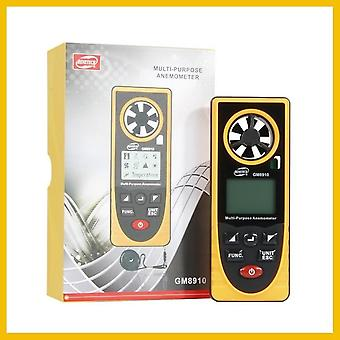 Tragbares Anemometro Thermometer