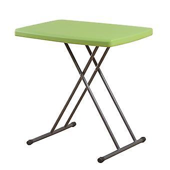 シンプルなプラスチック折りたたみテーブル