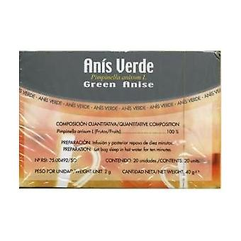 Green Anise Infusions 20 units