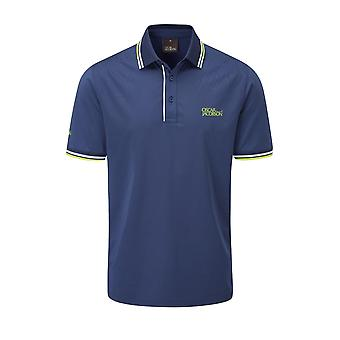 Oscar Jacobson Mens Buxton Polo Shirt Short Sleeve Performance Top