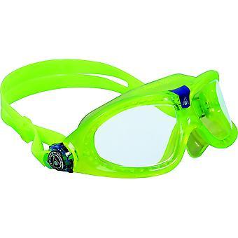 Aqua Sphere Seal Kid 2 Yüzme Gözlüğü - Şeffaf Lensler - Yeşil